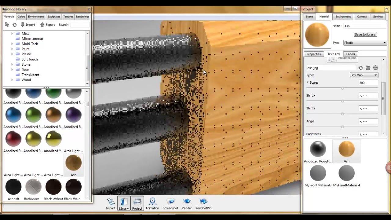 sketchup 2013 to keyshot 4 youtube. Black Bedroom Furniture Sets. Home Design Ideas