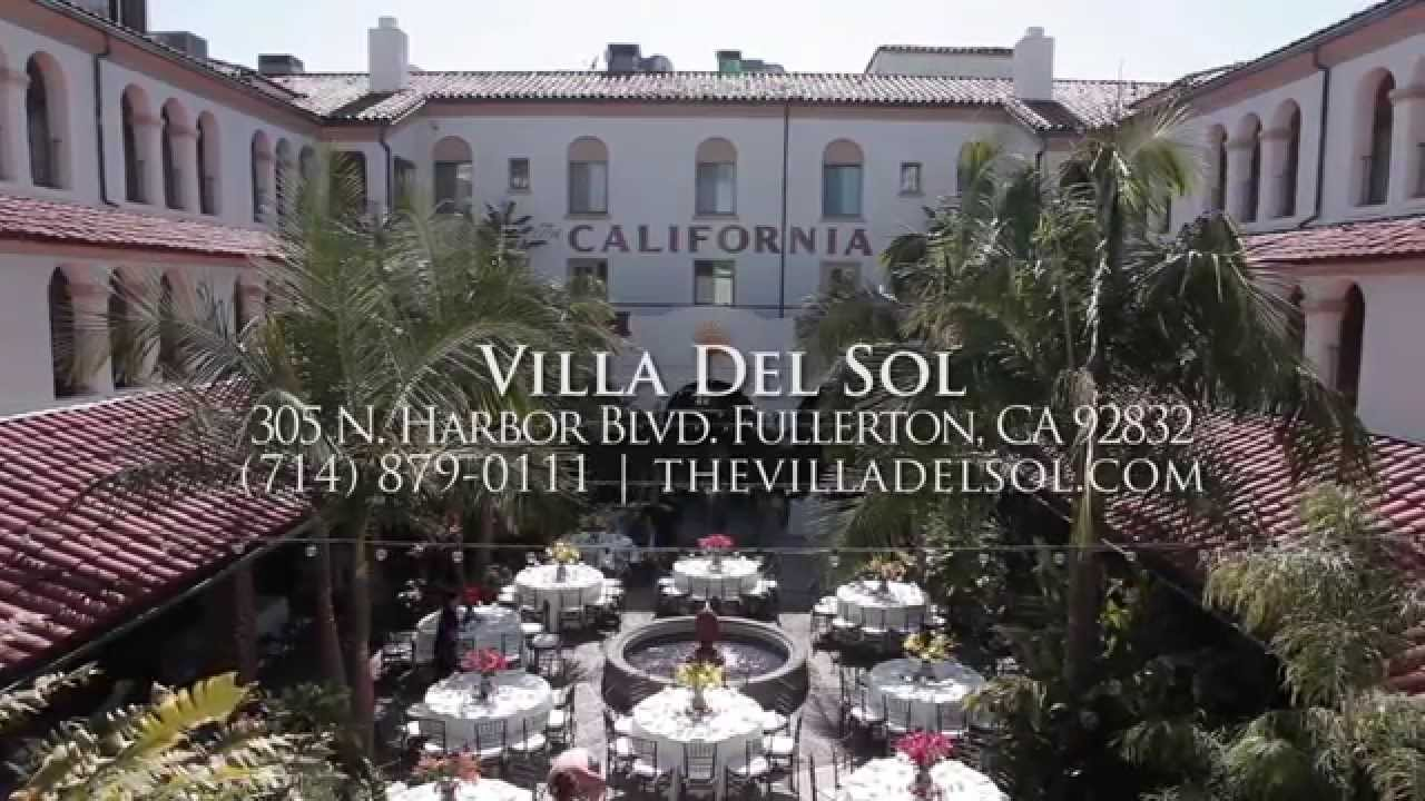 Villa Del Sol Wedding Venue Fullerton Ca