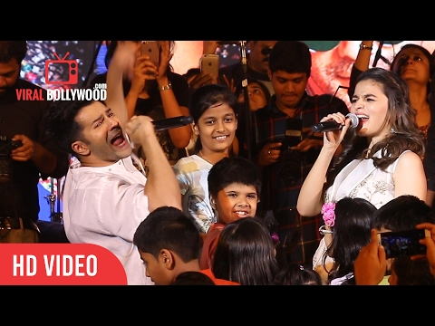 Crazy Varun Dhawan And Crazy Alia Bhatt At Kala Ghoda Arts Festival 2017