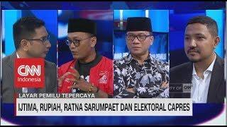 Ijtima, Rupiah, Ratna Sarumpaet & Elektoral Capres | CNN Layar Pemilu Tepercaya