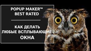 видео Плагина Popup Maker. Всплывающие окна на WordPress. Как создать всплывающее окно с помощью плагина Popup Maker.