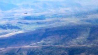 Alucra'daki Askeri Helikopterin Düşmeden Önceki Son Görüntüsü