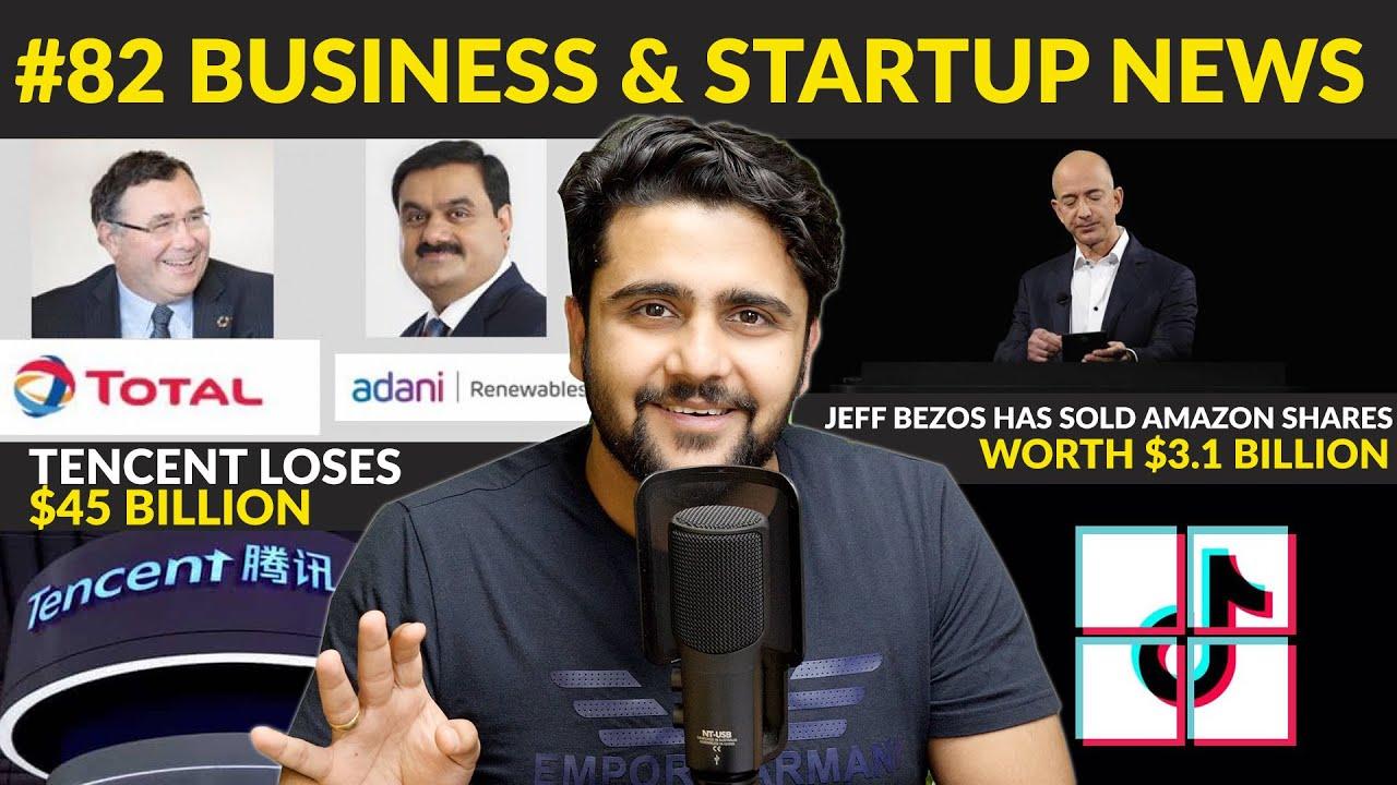 Business news #82   Microsoft will Buy Tiktok India,RBI,Jeff Bezos Sells $3.1 billion Shares,Uber
