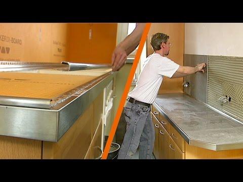 Piano Di Lavoro Cucina In Muratura.Come Realizzare Un Piano Lavoro Cucina In Ceramica Realizzazione
