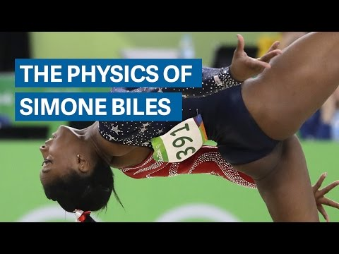 The Physics of Simone Biles