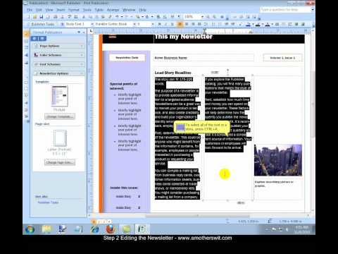 making a trifold brochure using microsoft Find out how easy it is to create a tri-fold brochure using microsoft word.