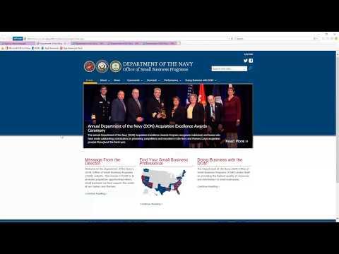 SBO Showcase Episode 5 - Department of the Navy
