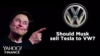 Why Elon Musk should sell Tesla to Volkswagen