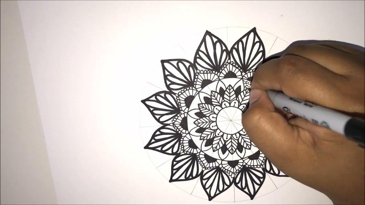 Como hacer mandalas tips y trucos para una mandala perfecta how to draw mandala tips and diy - Como hacer una claraboya ...