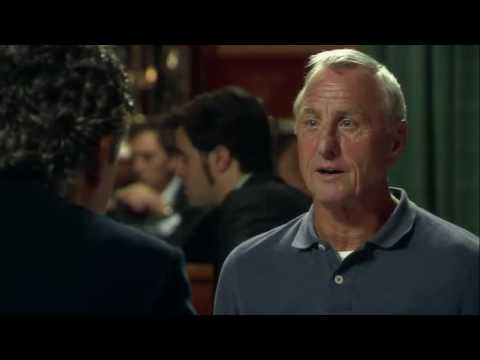 Johan Cruyff habla de Messi, Iniesta y Xavi