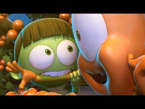 Funny Animated Cartoon | Spookiz | OUCH! Zizi Bites Kebi Too Hard | 스푸키즈 | Cartoon For Children