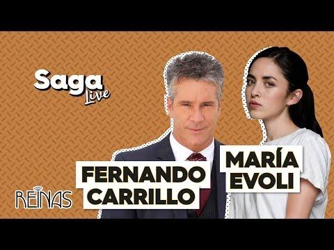 #SagaLive María Evoli, Fernando Carrillo y las Reinas de La Casa de las Flores con Adela Micha.