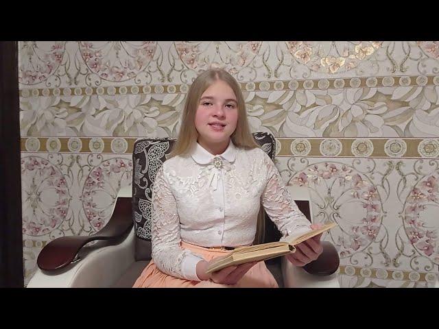 Изображение предпросмотра прочтения – СофияПанфёрова читает произведение «Песни, песни , о чем вы кричите?...» С.А.Есенина