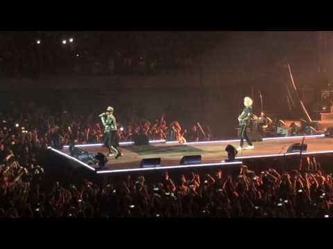 Queen + Adam Lambert - Intro/The Hero/Hammer To Fall - Barcelona 22/05/2016