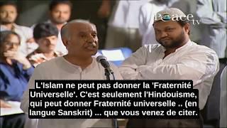 Un Homme En Colère Contre La Conférence De Zakir Naik Sur La Fraternité Universelle