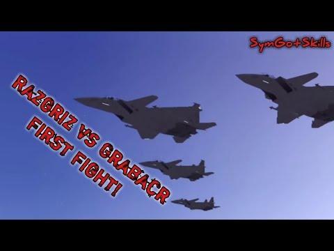 Ace Combat 5 : Razgriz Vs Grabacr Squadron - First Fight!