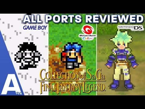 Which Versions of the Final Fantasy Legends (SaGa) Games Should You Play? - All Ports Reviewed