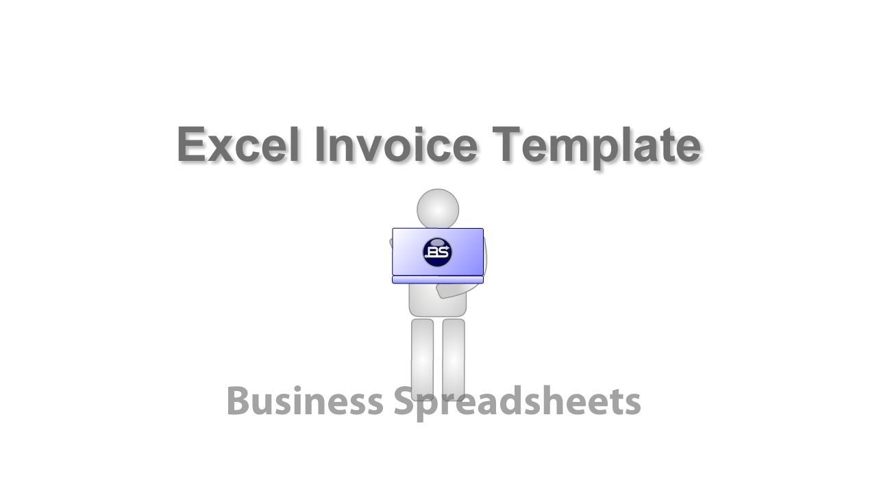 Excel Invoice Template Youtube