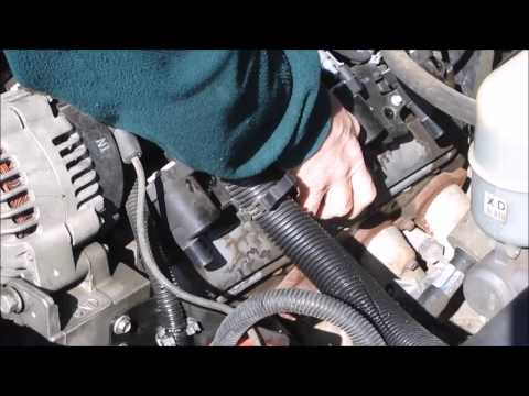 GM Vortec Valve cover removal instructions