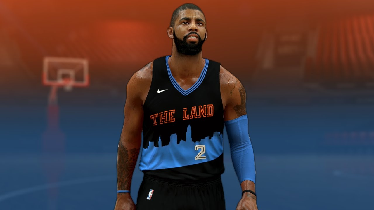 7354eac56 NBA 2K17 - Cleveland Cavaliers The Land Alternate Jersey Tutorial ...