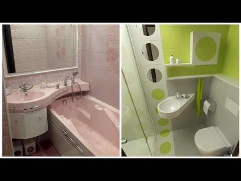 80 small bathrooms combined with a toilet! Interior design ideas!