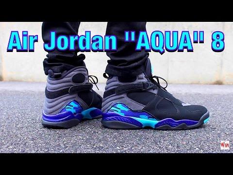 air jordan 8 retro aqua cost
