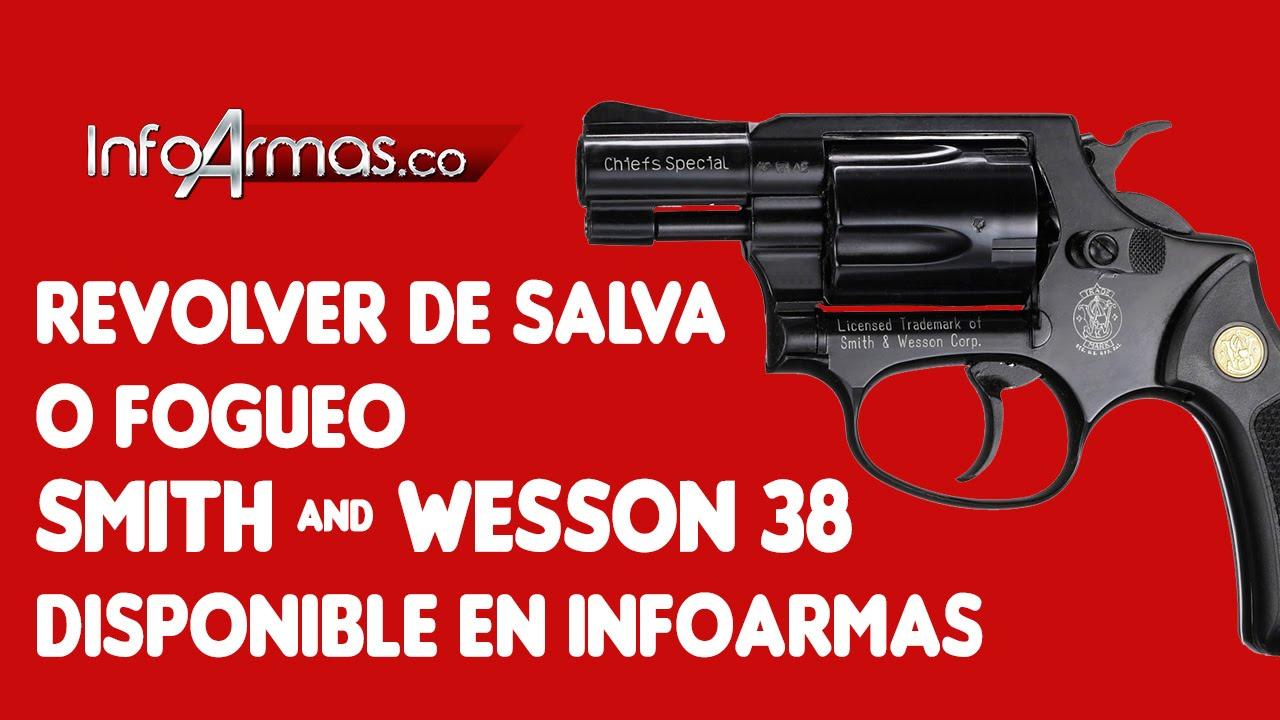 Revolver de salva o fogueo Smith and Wesson 38 Disponible en ...