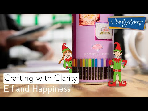 Stamping How To - Elf And Happiness