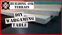 How to Make A 6'x4' Wargaming Table For Less Than $55