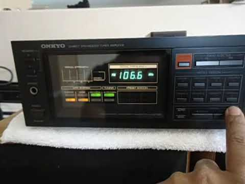 onkyo quartz synthesized tuner amplifier r1. onkyo tx-36 stereo receiver japanese ! quartz synthesized tuner amplifier r1