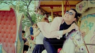 PSY - 'GANGNAM STYLE(강남스타일)' M/V Making Film(Available on iTunes @ http://Smarturl.it/psygangnam #PSY #싸이 #GANGNAMSTYLE #강남스타일 More about PSY@ http://www.psypark.com/ ..., 2012-07-25T07:38:30.000Z)