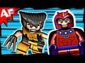X-Men WOLVERINE CHOPPER Showdown 6866 Lego Marvel Superheroes Stop Motion Review