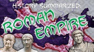 History Summarized: The Roman Empire