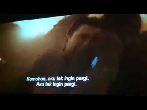 Avengers : Infinity War - Sad Scene Spidey and Tony Stark