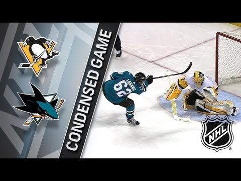Pittsburgh Penguins vs San Jose Sharks – Jan. 20, 2018 | Game Highlights | NHL 2017/18. Обзор матча