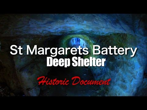 St Margaret's 5.5″ Battery Deep Shelter (Historic Document)