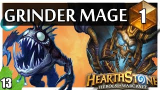 Hearthstone Grinder Mage - Coldlight Oracle and Deathlord! #1