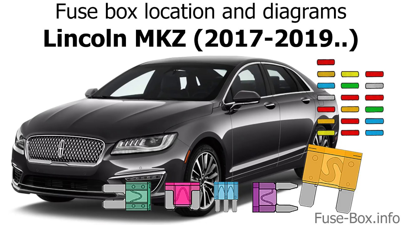 fuse box location and diagrams lincoln mkz 2017 2019  [ 1280 x 720 Pixel ]