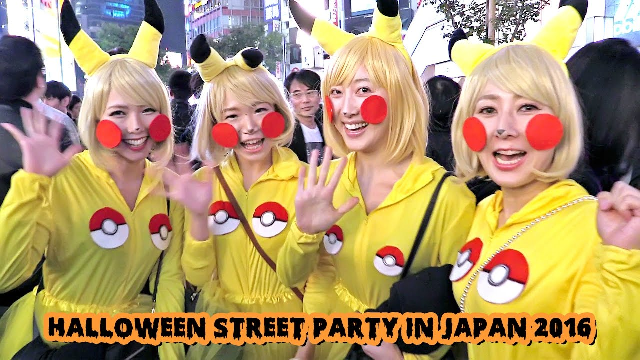 Halloween in Japan 2016 - YouTube