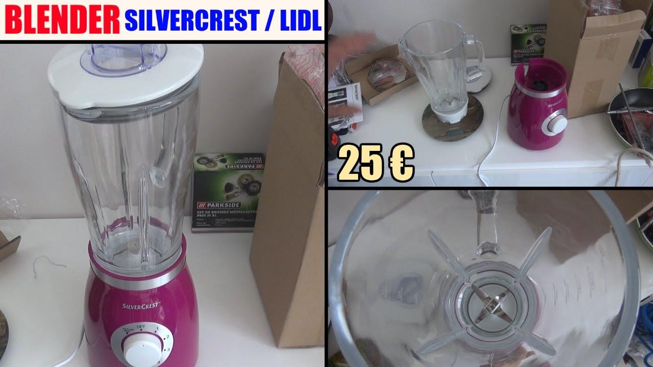 blender silvercrest lidl ssm 550 d1 bol en verre test avis prix notice caracteristiques youtube. Black Bedroom Furniture Sets. Home Design Ideas