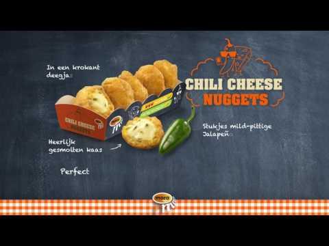 Narrowcasting Chili Cheese Nuggets NL