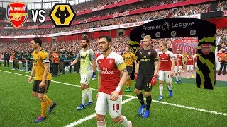 Arsenal vs Wolves - Premier League 11 November 2018 Gameplay