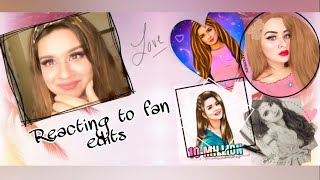 REACTING TO FAN EDITS- PART 1| AVNEET KAUR| 2020