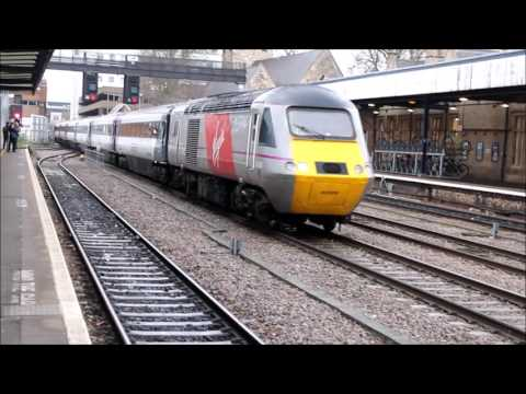 ECML Diversion at Lincoln - 28th march 2015