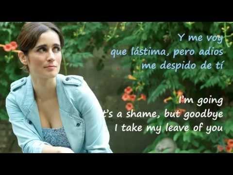 """Me Voy"" Julieta Venegas (letra en español & English lyrics)"