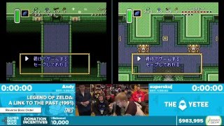 Zelda: A Link to the Past by Andy, superskuj in 1:29:47 - Awesome Games Done Quick 2016 - Part 157