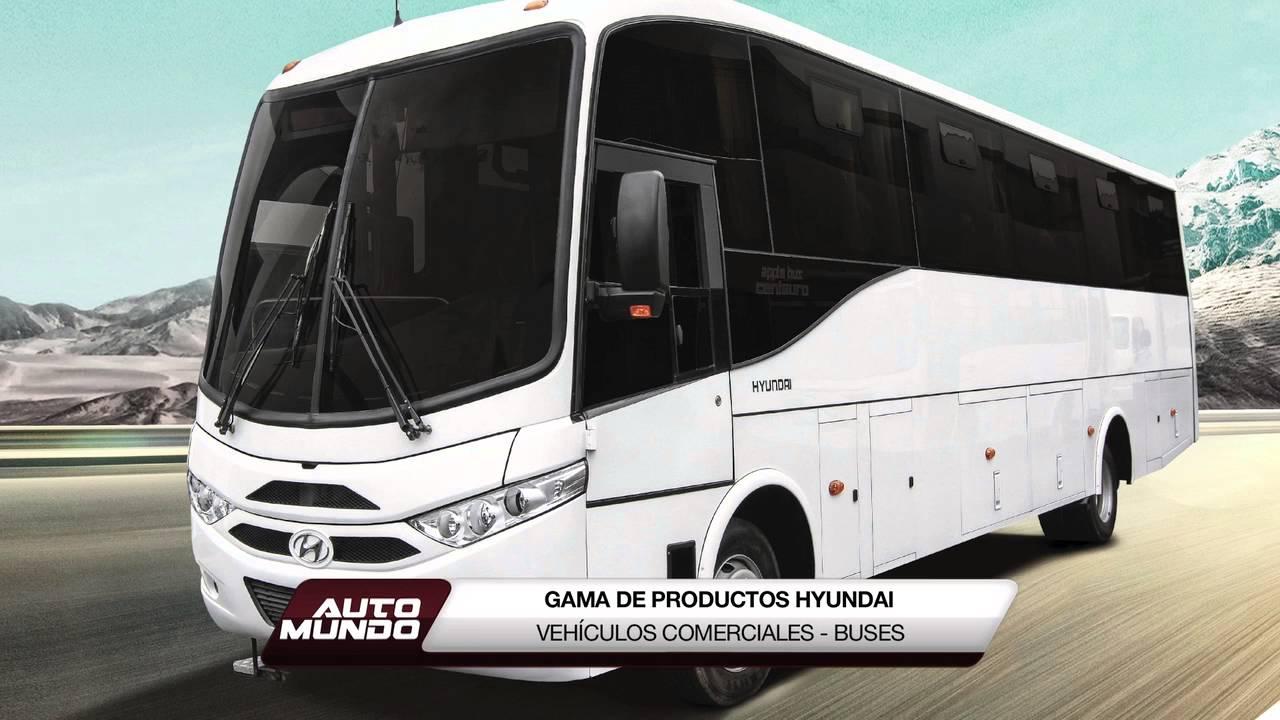gama de productos hyundai veh culos comerciales buses youtube. Black Bedroom Furniture Sets. Home Design Ideas