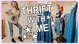 COME THRIFT WITH ME ♡ What I got for $25 at Goodwill! Try On Thrift Store Haul