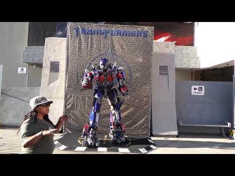 Optimus Prime speaks - Universal Studios