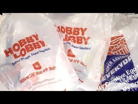 Hobby Lobby Haul Clearance Sale